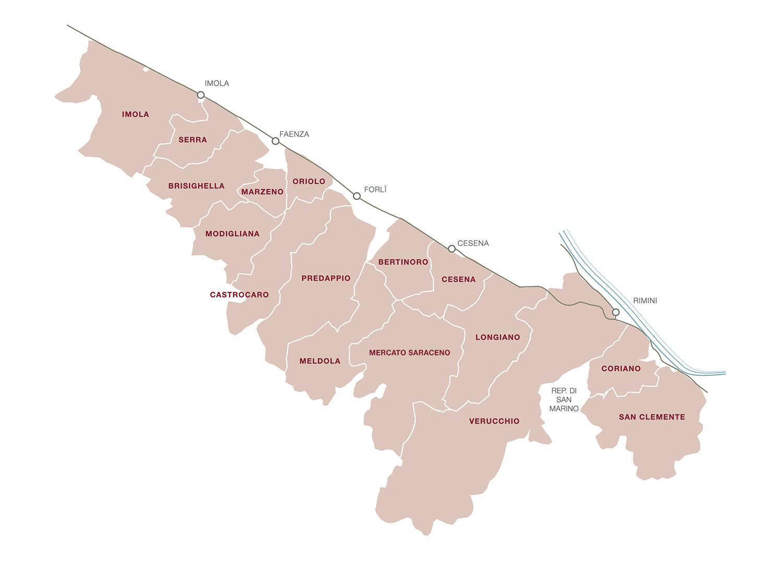 Mappa - Romagna Sangiovese DOC MGA